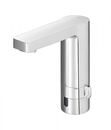 Roca L90 Infra-Red Mains Operated Electronic Basin Mixer Tap With Flow Limiter - Chrome